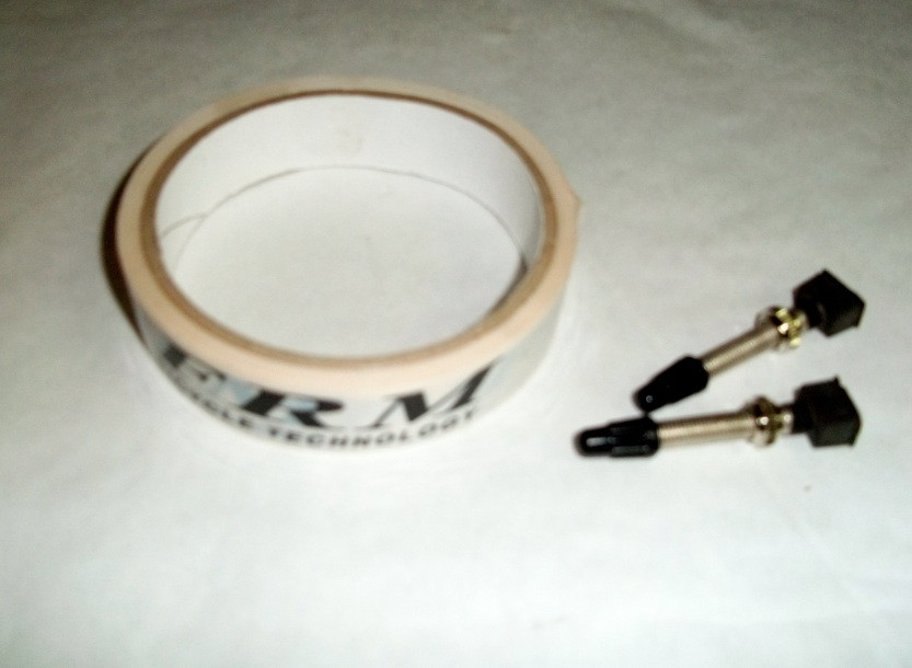 FRM Rim Tape 24mm White with Tubeless Valve