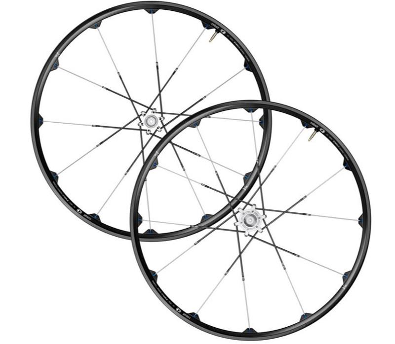 "CRANKBROTHERS 2013 Wheelset Cobalt 2 26"" Disc 6-bolts Axle (15x100mm / 10x135mm) Black/Black/Blue (13533)"