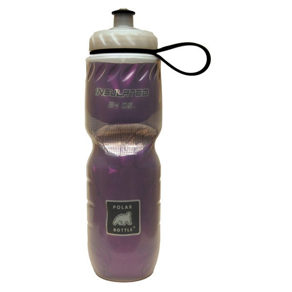 POLAR BOTTLE Insulated - Solid color 24oz (0.7L) - Purple