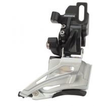SHIMANO Front Derailleur DEORE FD-M618 2x10sp Direct Mount High Black (FDM618D)