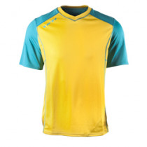YETI Men's Jersey TOLLAND Turquoise/Yellow Size S (A2615814.S)