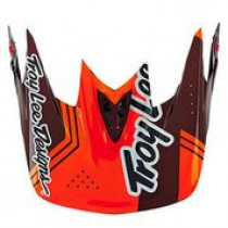 TROY LEE DESIGNS Visor Berzerk D3 Red (A3116059)