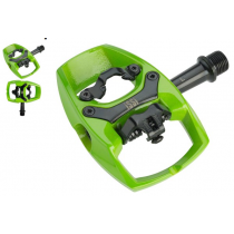ISSI Pair Pedals Flip II Lime Green (PD2870)