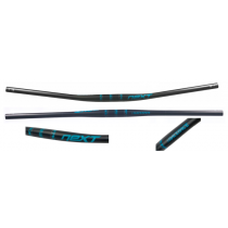 RACEFACE Handlebar NEXT Carbon 31.8x760mm Matt Black/Turquoise