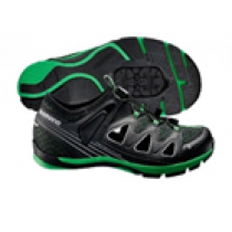 SHIMANO Shoes SH-CT46 Black/Green Size 40 (ESHCT46G400LG)