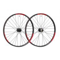 "SPANK Wheelset 350 VIBROCORE 27.5"" Disc (20x110mm / 12x150mm) Black/Red (C08SK352224ASPK)"