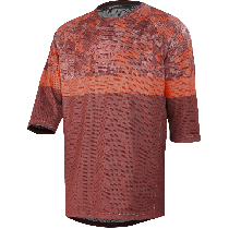 IXS Jersey Air Carve Night Red Camo Size S (473-510-9460-022-S)