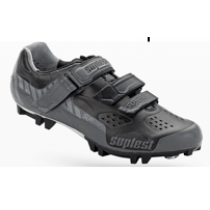 SUPLEST Shoes Crosscountry Supzero Velcro Grey/Black Size 45 (02.024.45)