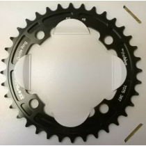 E-THIRTEEN Chainring Guidering 36T (4mm) Jet Black Anodised (CR.36.K)