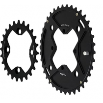 E-THIRTEEN Chainring 24-38T Double Shiftring Kit (CR.2438.K)