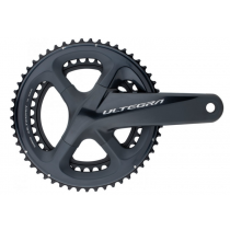 SHIMANO Chainset ULTEGRA FC-R8000 2x11sp 46/36T 170mm w/o BB Black (KFCR8000CX66) (150419014)