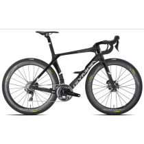 OLYMPIA COMPLETE ROAD BIKE BOOST Carbon DISC - SHIMANO ULTEGRA 8020  - Size M Black