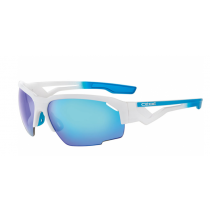 CEBE Sunglasses HILLDROP Matt White Gradient Blue  (CBS013)