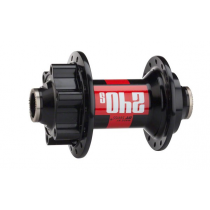 DT SWISS FRONT Hub 240S 28H Disc 6-bolts (15x100mm) Black/Red (H240ADIXR28SO2144S)