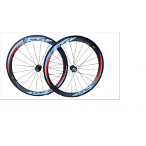 FSA Wheelset RD-488 Carbon 50mm Tubular 700C Black