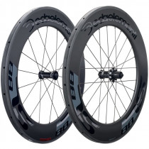 DEDA ELEMENTI Wheelset SL88 Carbon Tubular  Polish On Black