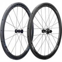DEDA ELEMENTI Wheelset SL45 Carbon Tubular Polish On Black