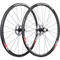DEDA ELEMENTI Wheelset SL30DB Carbon Clincher Disc TEAM