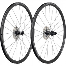 DEDA ELEMENTI Wheelset ZERO2DB Aluminium Clincher Disc Black On Black