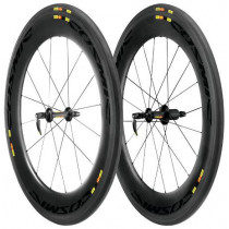 MAVIC Wheelset COSMIC Carbon 80 Tubular WTS ED11 Black (M11150814)