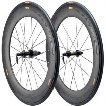 MAVIC Wheelset COSMIC Carbon 80 Tubular WTS M11 Black (M11150714)