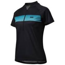 IXS Jersey Women's Trail 6.1 Black Size 38 (473-510-6750-003-38)