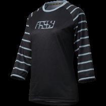 IXS Jersey Women's VIBE 6.2 Black/Turquoise Size 46  (473-510-6851-190-46)