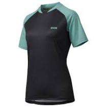 IXS Jersey Women's Progressive 7.1 Black/Turquoise Size 46 (473-510-7760-190-46)