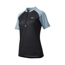 IXS Jersey  Women's Trail 7.1 Black/Blue Size 44 (473-510-7750-053-44)