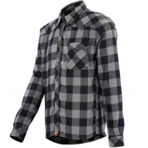 IXS SHIRT Escapee Flannel Black/Anthracite Size XS (473-510-8070-003-XS)