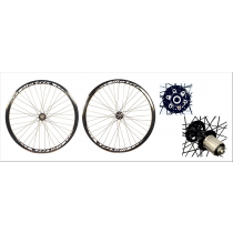 MATRIX Wheelset R300 Disc 700C (9x100mm / 9x130mm) Black
