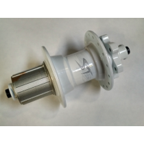 SHOCK THERAPY Rear Hub Hardride Series NASTY SISTER Disc 6-Bolts (9x135mm) White (40011/W)