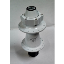 SHOCK THERAPY REAR Hub Hardride Series BIG MAMA Disc 6-Bolts (12x150mm) White