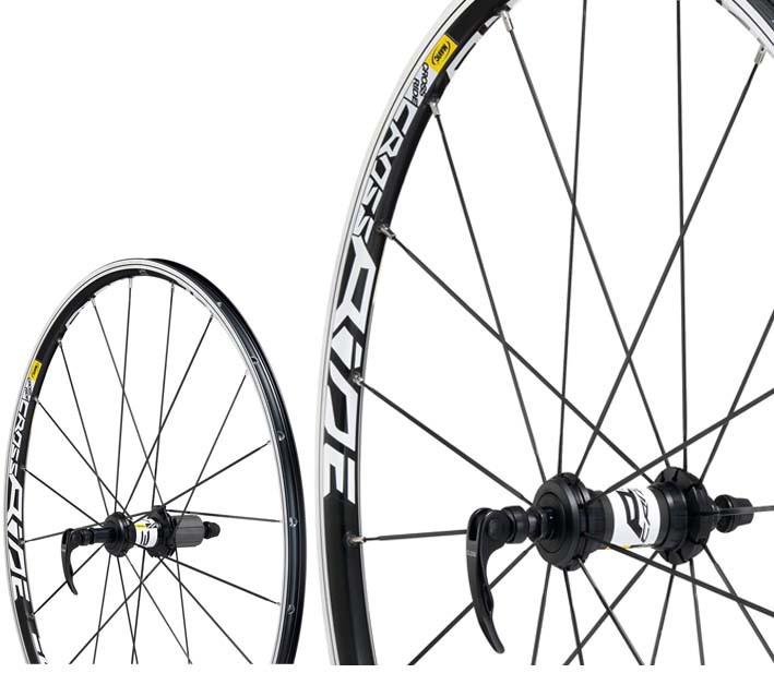 "MAVIC Wheelset Crossride 26"" UB V-Brakes (9x100mm/ 9x135mm) Black"