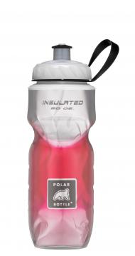 POLAR BOTTLE Bidón isotermo - Fade 20oz (0.6L) - Rojo