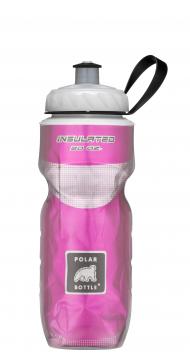 POLAR BOTTLE Bidón isotermo - Solid color 20oz (0.6L) - Rosa