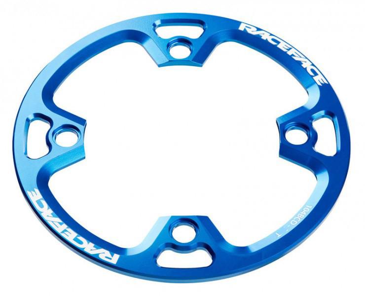 RACEFACE Protector de platos Bashguard Light  - 4 agujeros - 36t - Azul