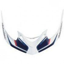 TROY LEE DESIGNS Helmet Visor Reflex A1 White/Navy (A3116051)