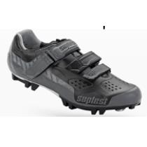 SUPLEST Shoes Crosscountry Supzero Velcro Grey/Black Size 46 (02.024.46)