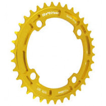 E-THIRTEEN Chainring Guidering 38T (4mm) Delta Gold Anodised (CR.38.A)