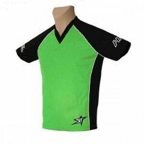 SHOCK THERAPY Jersey Hardride News Generation Black/Green Size L (80105-BGRE-L)