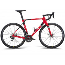 SCAPIN COMPLETE BIKE KALIBRA Disc CARBON - SHIMANO ULTEGRA DISC - Size S Red