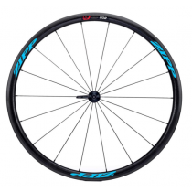 ZIPP FRONT Wheel 202 FIRECREST V3 Carbon Clincher 700C Black/Blue (00.1918.233.006)