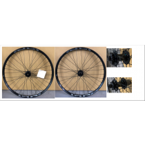 "E-THIRTEEN Wheelset LG+ 27.5"" Disc 6-bolts (15x100mm / 12x142mm)  Black"