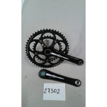 CAMPAGNOLO Chainset VELOCE CT 34/50 170mm Black (27302)