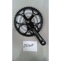 PROWHEEL Chainset SOLID 8sp 30/42/52 w/o BB 170mm (27240P)