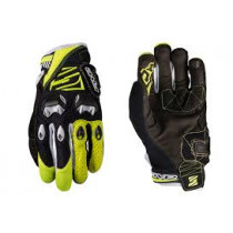 FIVE Pairs Gloves DH Fluo Yellow  Size M (C0417016509)