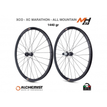 "ALCHEMIST Wheelset MH27 Carbon 29"" Disc BOOST (15x110mm / 12x148mm) Shimano 11sp Black"