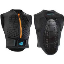 BLUEGRASS Body Armor Protection Dorsal Size XS Black (3PROP01XS16)