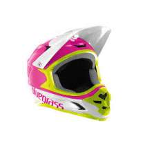 BLUEGRASS Helmet INTOX Size M Pink/Green/White (3HELG09M0PI)